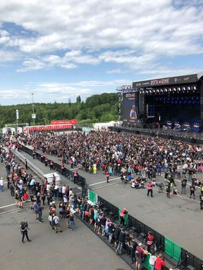 SANI beim Rock am Ring 2019