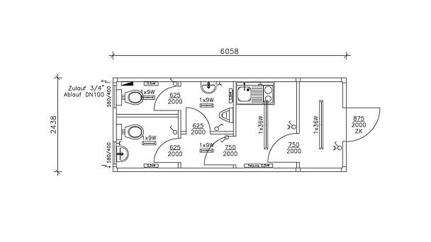 burocontainer grundriss. Black Bedroom Furniture Sets. Home Design Ideas